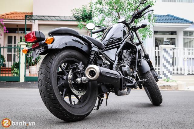 Trai nghiem Rebel 300 mau xe mo to dang mua nhat dip Tet Ky Hoi 2019 - 7