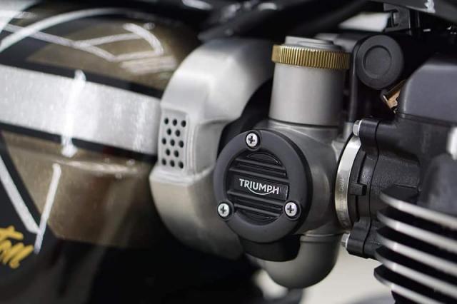 Triumph Thruxton R do ngoan muc voi mau ao Vuong Quoc Anh - 12