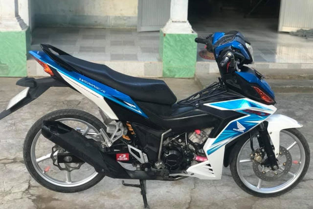 Winner 150 do dan chan luoi lam cuc ben cua biker Tra Vinh - 3