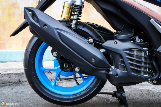 Yamaha Exciter 150 NVX 155 phien ban Doxou Trao luu xe thoi trang moi cua gioi tre 2019 - 48