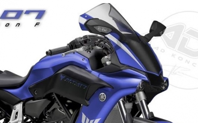 Yamaha MT07 DiversionF ban thiet ke sang tao ket hop R1 tu Custom Italia - 3