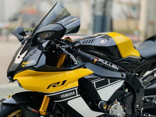 Yamaha R1 phien ban Ca Tre hoa cuong voi dan do cuc chat - 17