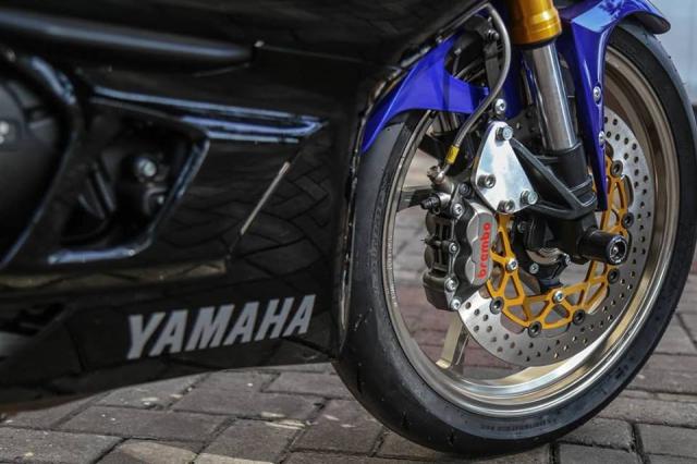 Yamaha R3 2019 do cuc shock voi dan chan OZ Racing hang nang - 6