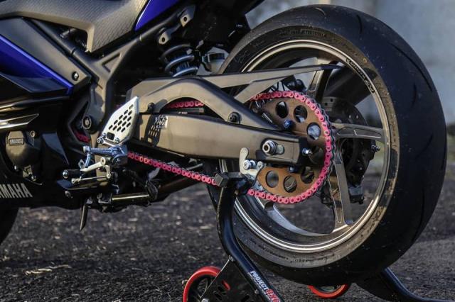 Yamaha R3 2019 do cuc shock voi dan chan OZ Racing hang nang - 10