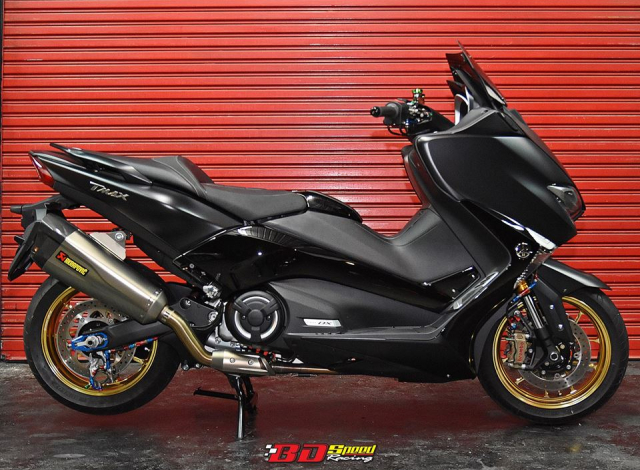 Yamaha Tmax530 do full option day chat choi voi dien mao hoan hao - 4