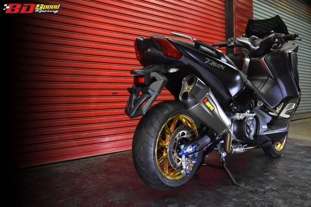 Yamaha Tmax530 do full option day chat choi voi dien mao hoan hao - 20
