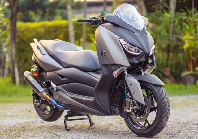 Yamaha XMax300 do gay can voi he thong phanh Brembo Billet cao cap - 3