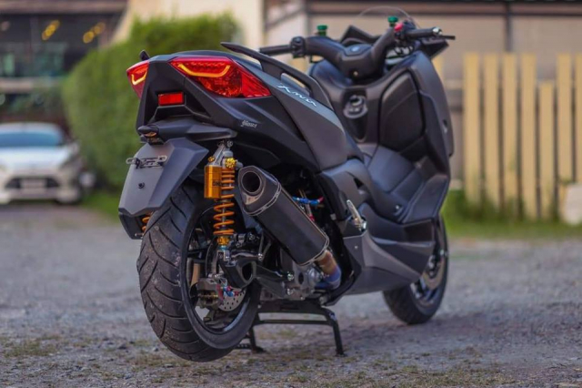Yamaha XMax300 do gay can voi he thong phanh Brembo Billet cao cap - 9