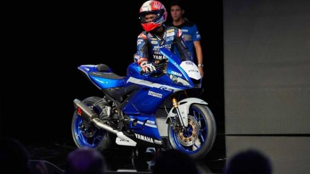 Yamaha YZFR3 2019 phien ban WSSP300 duoc tiet lo thong so - 2
