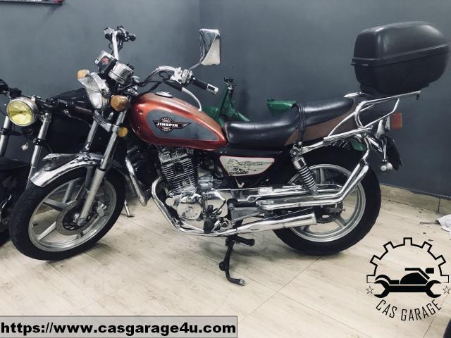 Cubtom 125cc may dung 2 bo CAS Garage - 3