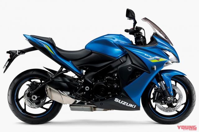 Ban cap nhat moi cua Suzuki GSXS1000F GSXS1000 va GSXS750 2019 voi nhieu tinh nang duoc bo sung - 3
