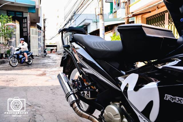 Exciter 150 do cuc chat mo phong phong cach choi xe Malaysia - 6