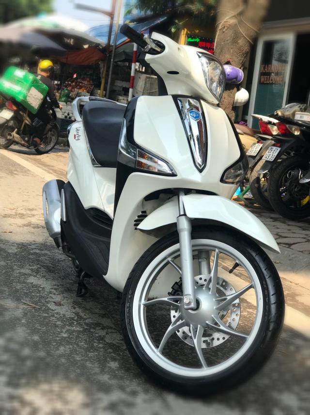 Can ban Liberty ABS iGet 2017 mau Trang chay chuan 2000km qua moi