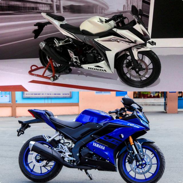 CLIP So sanh Maxspeed bang GPS giua R15 V3 CBR150R do biker thuc hien - 3