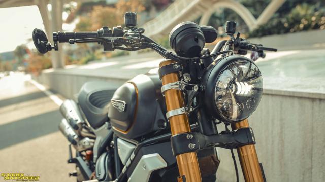 Ducati Scrambler 1100 Sport do Ve dep thanh lich day ap cong nghe tren duong pho Viet - 5