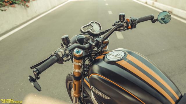 Ducati Scrambler 1100 Sport do Ve dep thanh lich day ap cong nghe tren duong pho Viet - 7