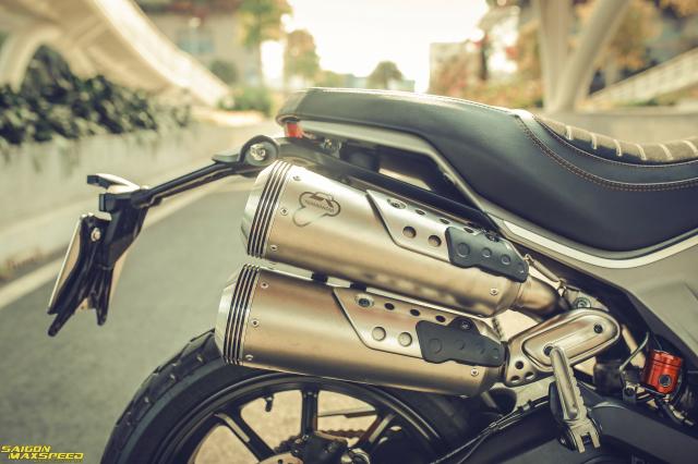Ducati Scrambler 1100 Sport do Ve dep thanh lich day ap cong nghe tren duong pho Viet - 9
