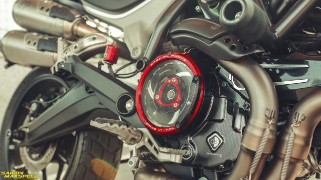 Ducati Scrambler 1100 Sport do Ve dep thanh lich day ap cong nghe tren duong pho Viet - 11