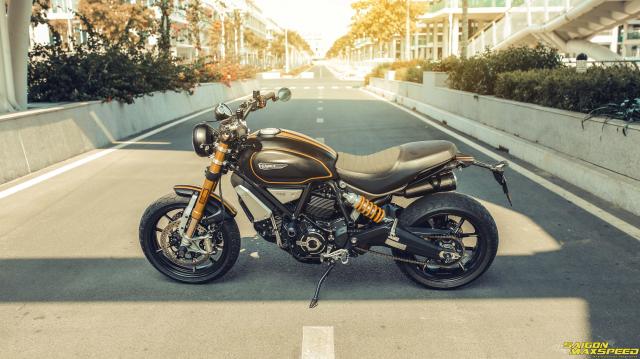 Ducati Scrambler 1100 Sport do Ve dep thanh lich day ap cong nghe tren duong pho Viet - 15