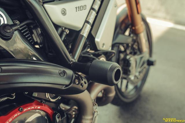 Ducati Scrambler 1100 Sport do Ve dep thanh lich day ap cong nghe tren duong pho Viet - 23