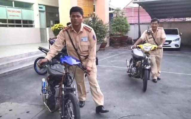 Hang chuc quai xe tu tap dua xe o Binh Duong bi tom gon trong dem - 4
