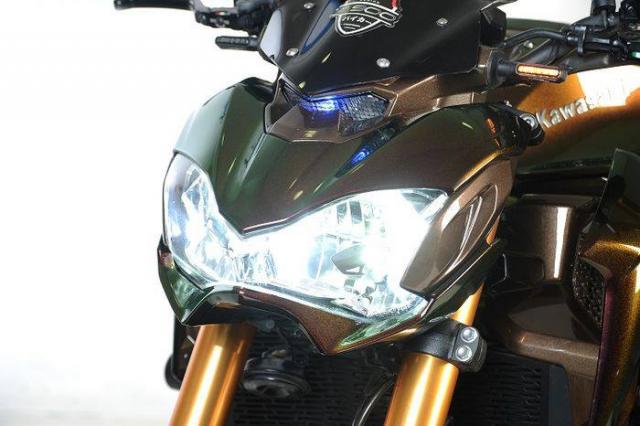 Kawasaki Z900 do tong mau la cung dan do choi sieu khung - 4