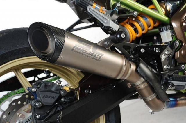 Kawasaki Z900 do tong mau la cung dan do choi sieu khung - 6