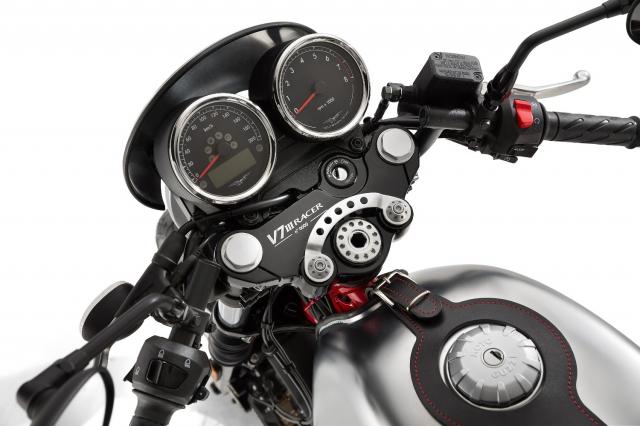 Moto Guzzi V7 III Racer chuan bi ra mat thi truong Bac My co gia tu 231 trieu VND - 6