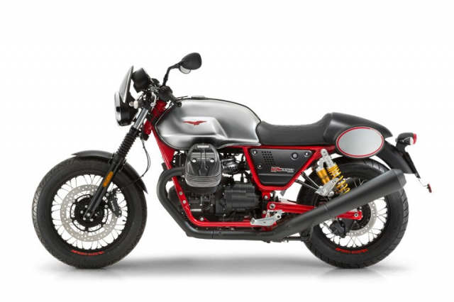 Moto Guzzi V7 III Racer chuan bi ra mat thi truong Bac My co gia tu 231 trieu VND - 8