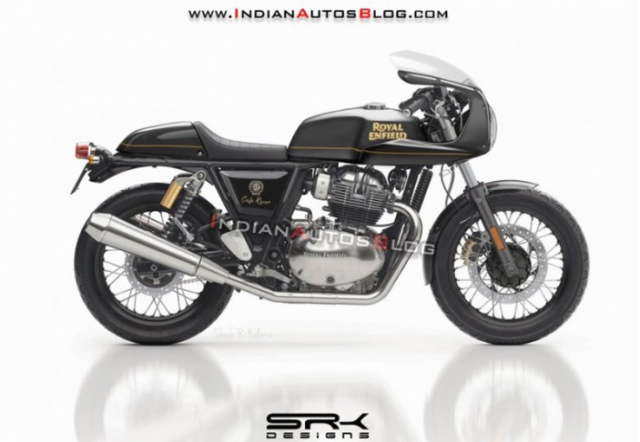 Royal Enfield Continental GT 650 Cafe Racer Edition Concept chinh thuc xuat hien - 3