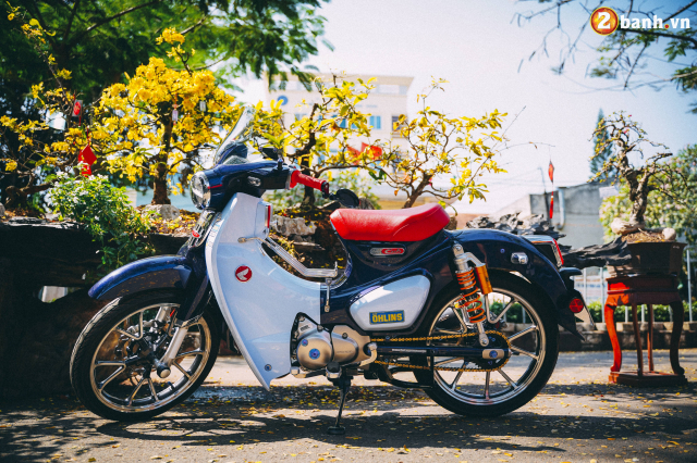 Super Cub do option do choi hon 200 trieu dong cua biker Long Khanh - 3