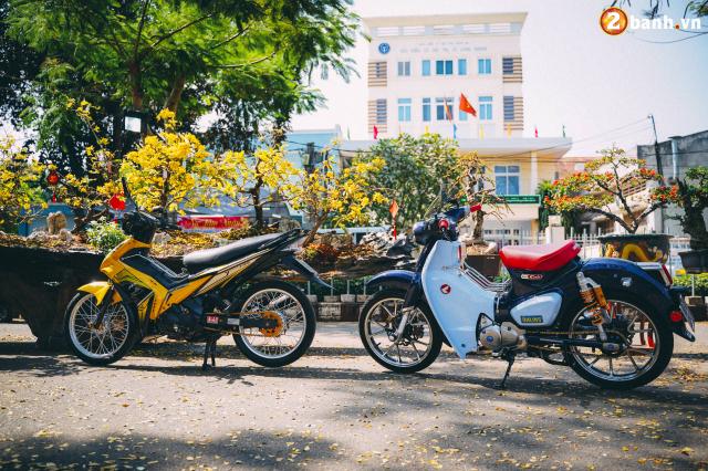 Super Cub do option do choi hon 200 trieu dong cua biker Long Khanh - 12