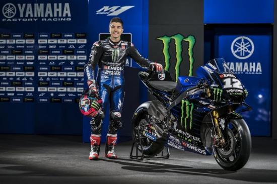 Yamaha M1 2019 Monster Energy Quai vat moi cua doi Yamaha chinh thuc trinh lang - 11