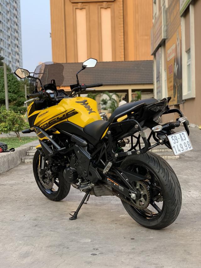 _ Can Ban kawasaki Versy 650 ABS DKLD T32016 mau xam Den odo 8000km HQCN ngay chu dung ban - 7