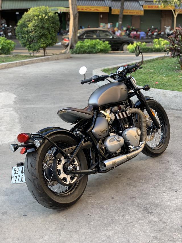 _ Can Ban Xe Triumph Bobber ABS HQCN date T82017 odo 6500 ngay chu dung ban xe moi tinh - 5