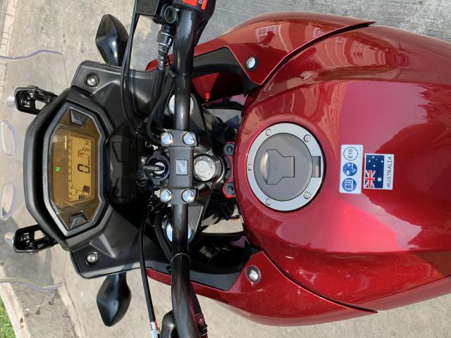 __ Can Ban be HONDA CB500X ABS DKLD T102018 HQCN odo 1700km ngay chu dung ban xe dep moi - 8