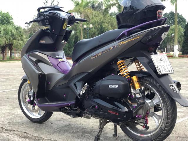 Air Blade do manh bao voi dan chan co bap cua biker Hung Yen - 7