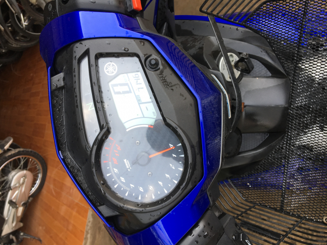 Ban Exciter 150 2017mau xanh denxe chay 7000km - 3