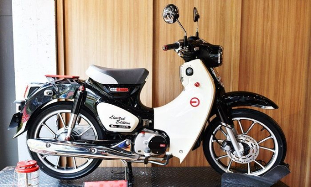 Cub C125 2019 ra mat phien ban Limited Edition co gia ban hap dan - 3