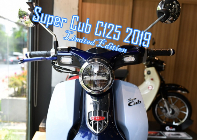 Cub C125 2019 ra mat phien ban Limited Edition co gia ban hap dan