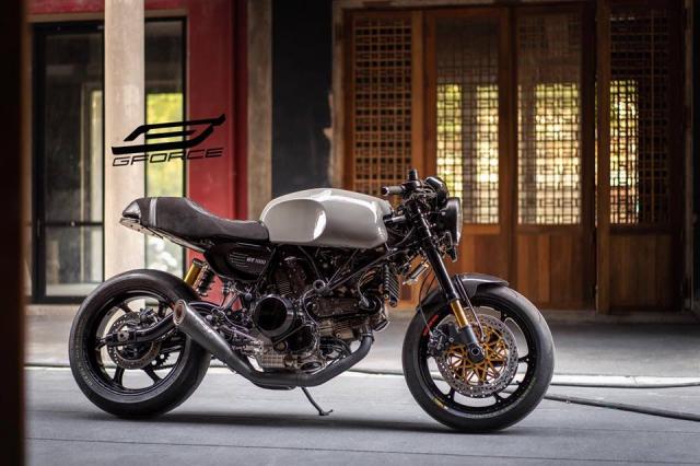 Ducati GT1000 do Phieu voi huyen thoai nakedbike duoc xay dung tai GForce - 3