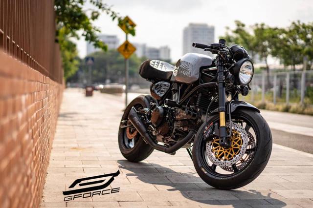 Ducati GT1000 do Phieu voi huyen thoai nakedbike duoc xay dung tai GForce - 11