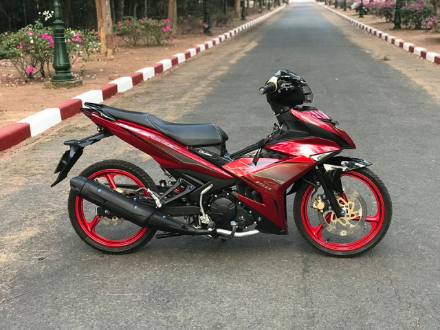 Exciter 150 do pha cach voi dan chan 3 dao cung loat do choi an tuong - 8