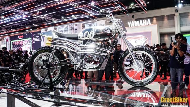 BIMS 2019 Legend 400 FTR mau xe y tuong manh nhat cua GPX Racing - 5