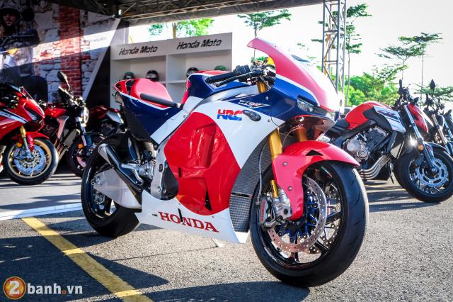 Can canh RC213VS phien ban nang cap va cam nhan sau khi chay thu tai Honda Biker Day 2019 - 2