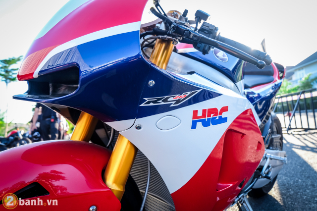 Can canh RC213VS phien ban nang cap va cam nhan sau khi chay thu tai Honda Biker Day 2019 - 8