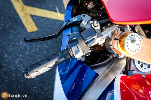 Can canh RC213VS phien ban nang cap va cam nhan sau khi chay thu tai Honda Biker Day 2019 - 16