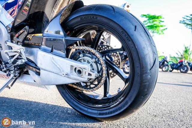 Can canh RC213VS phien ban nang cap va cam nhan sau khi chay thu tai Honda Biker Day 2019 - 28