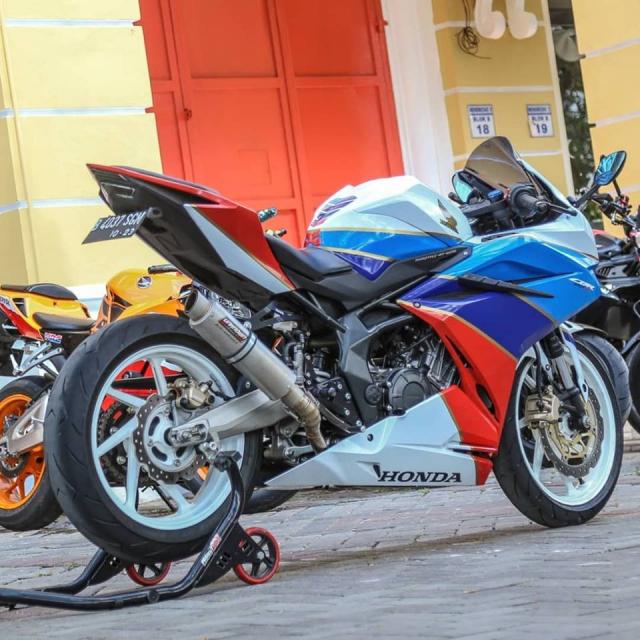 Honda CBR250RR do khac biet voi gam mau the thao 3 soc - 9