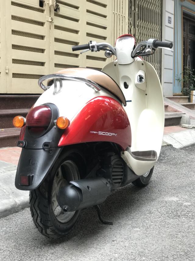 Honda Scoopy 50cc noi dia Nhat Ban cuc dep